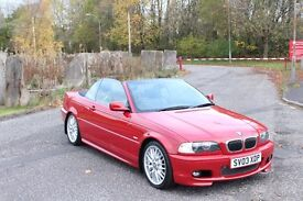 BMW 3 series M Sport Convertible Full History + Leather