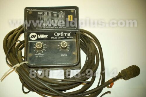 Miller Optima 300 Pulse MIG Control