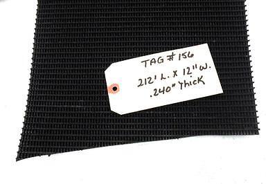Unknown Brand Conveyor Belt 212 L. X 12 W. X .240 Pvc Rough Top By Friction