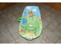 FISHER PRICE RAINFOREST VIBRATING BABY BOUNCER