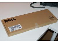 NEW Dell Quietkey KB212-B Black USB Keyboard - 2x Available