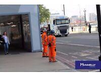 Traffic Marshal / CSCS / Central London / Immediate Start / £360 per week after tax / 2 yr