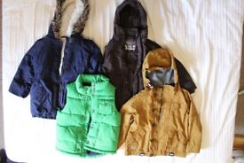 4 Children's Jackets Various Sizes
