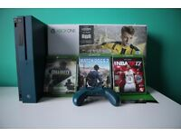 Xbox One S Blue with 3 games and Xbox Live Code