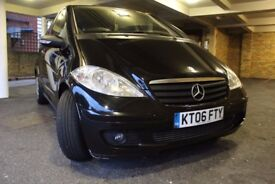 Mercedes A180 CDi Diesel Black in beautiful condition
