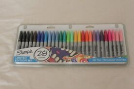 28 Pack of Assorted Sharpies *NEW* - Ltd Edition