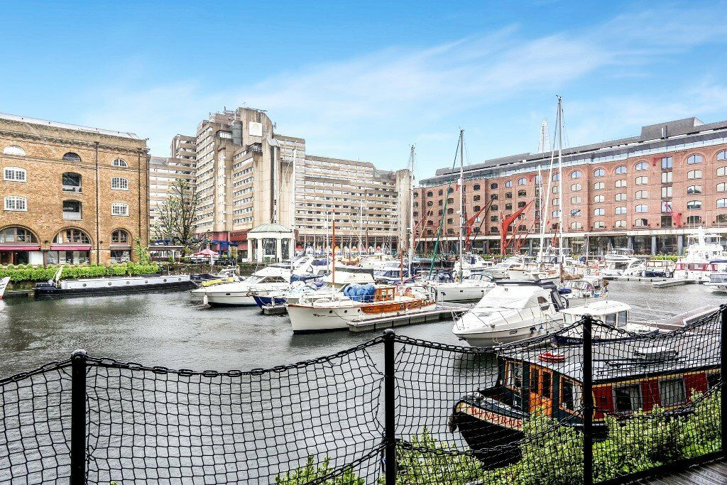 One double bedroom apartment, ground floor and giving striking views out over St. Katherines Dock.