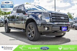 2014 Ford F-150 FX4 FORD CERTIFIED LOW RATES & EXTRA WARRANTY