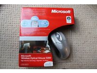 ***Microsoft Wireless Optical Mouse 5000*** (BRAND NEW IN BOX)