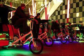 Rickshaw for sale, great little business to run, easy set up. (Garage based in Dublin, Ireland)