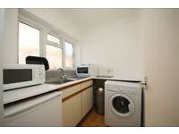 Very spacious studio flat with separated kitchen and share of the garden in Thornton Heath