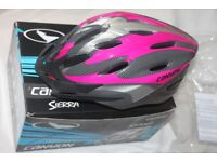 BICYCLE HELMET (Canyon Sierra - adjustable 54-59cm) MINT CONDITION CYCLE ACCESSORY