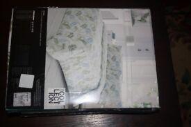 Single Duvet Cover set - Pale green Nevara £20