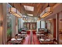 Head Bartender, internationally acclaimed restaurant