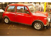 CLASSIC 1993 MINI SPRITE 1.3 WITH MOT LOGBOOK A LOT OF DOCUMENTS, NEW CLUTCH , 12 MONTHS MOT