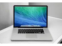 17' Apple MacBook Pro Quad Core i7 2.2Ghz 8gb 750GB HD Logic Pro X Ableton Final Cut Pro X Adobe CC