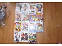 Wii console with 15 games, 1 wiimote, 1 nunchuck + batteries