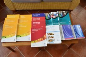 AAT Textbooks & ICB (Institute of Certified Bookkeepers) Textbooks