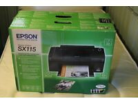Epson Stylus SX115 Printer, Scanner, Copier. All-in-one