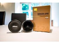 Nikon Zoom-Nikkor Wide-angle zoom lens 14-24mm f2.8