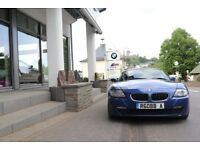 Montego Blue BMW Z4 Coupe, 39k miles, Supersprint Race exhaust and other goodies