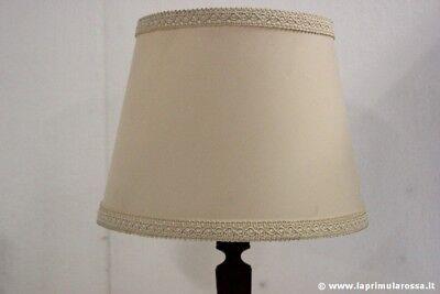 PARALUME BEIGE PER LAMPADA H cm 20 diam.25