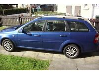 2007 CHEVROLET LACETTI SX BLUE ESTATE