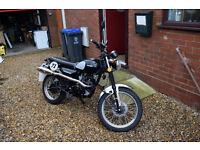 sinnis scrambler 125 cc