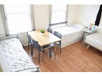 Twin/triple room in South Wimbledon. All bills are included.
