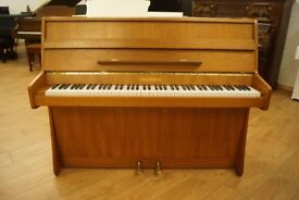 Chappell modern compact upright piano - Tuned & UK delivery available