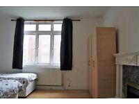 TWIN ROOM AVAILABLE NOW!NO DEPOSIT! FULLY FURNISHED - ALL BILLS INCLUDED - HOMERTON (HACKNEY ZONE 2)
