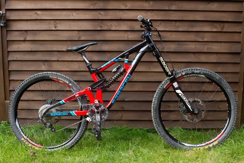dc42136697a Saracen Myst Pro 650b 2017 Medium Size Downhill Bike In Lydney