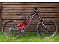 Saracen Myst Pro 650B - 2015 Medium Size Downhill Bike