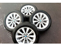 "Winter wheels, BMW 18"" Alloy wheels, fitted with Pirelli Sotto Zero 3 winter tyres"