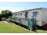 Historic Harwich. 3 bed caravan on small quiet site. Pet friendly