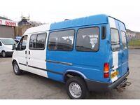 FORD TRANSIT SMILEY 15 SEAT MINI BUS LWB – 2001