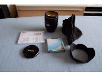 Nikon AFS 24-120mm f/4G ED VR Lens