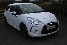 FROM £35 PER WEEK 2010 CITROEN DS3 5DR HATCHBACK 1.6 DIESEL MANUAL BLACK & WHITE GOOD SPEC LOW TAX