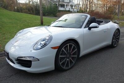 Porsche 911 Carrera 4S 2014 Carrera 4S Used Certified 3.8L H6 24V Manual AWD Convertible Premium