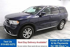 2015 Dodge Durango LIMITED 4WD! NAVIGATION! LEATHER! REAR CAMERA