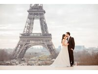 Bridal gown in pristine condition, only used once for few hours in a photoshoot in Paris