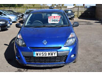 2009 RENAULT CLIO EXTREME DCI bargain,cheap car
