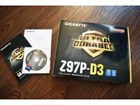 Gigabyte GA-Z97P-D3 Motherboard Intel 1150 Haswell Boxed