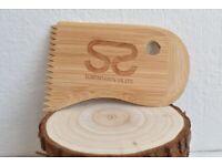 bamboo Surfboard Wax Comb surfboard comb surfing