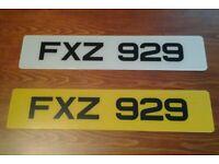 FXZ 929 - Cherished Registration Number (Dateless 3x3 NI Registration Number)