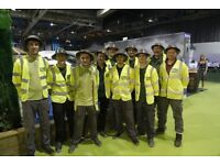 Volunteer for Erskine at the Ideal Home Show