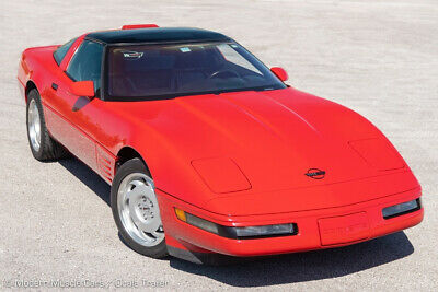 1991 Red Chevrolet Corvette ZR1    C4 Corvette Photo 1