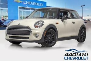 2014 Mini COOPER CUIR toit ouvrant automatique mags push start