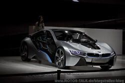 BMW i8 Concept - in Serie ganz anders...