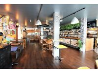 Immaculate & contemporary Bar & Restaurant having A3 & A4 license near SHOREDITCH with low premium--